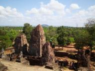 Asisbiz Facing North East Pre Rup Temple upper courtyard views East Baray 2010 02