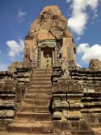 Asisbiz Facing North Pre Rup Temple central towers East Baray 01