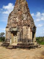Asisbiz Facing North Pre Rup Temple inner towers East Baray 04