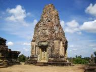 Asisbiz Facing North Pre Rup Temple inner towers East Baray 05