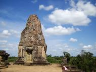 Asisbiz Facing North Pre Rup Temple inner towers East Baray 06