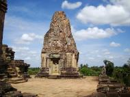 Asisbiz Facing North Pre Rup Temple inner towers East Baray 07