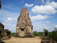 Asisbiz Facing North Pre Rup Temple inner towers East Baray 08