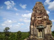 Asisbiz Facing North Pre Rup Temple inner towers East Baray 09