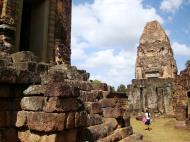 Asisbiz Facing North Pre Rup Temple lower courtyard East Baray 2010 01