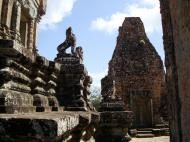 Asisbiz Facing North Pre Rup Temple lower courtyard library East Baray 2010 01