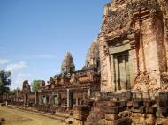 Asisbiz Facing North Pre Rup Temple lower courtyard towers East Baray 2010 04