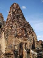 Asisbiz Facing North Pre Rup Temple outer towers East Baray 2010 01
