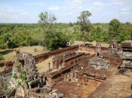 Asisbiz Facing North West Pre Rup Temple upper courtyard views East Baray 2010 01
