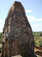 Asisbiz Facing SW Pre Rup Temple SW tower bas reliefs East Baray 02