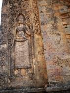Asisbiz Facing SW Pre Rup Temple SW tower bas reliefs East Baray 05