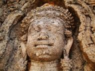 Asisbiz Facing SW Pre Rup Temple SW tower bas reliefs East Baray 06