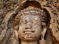 Asisbiz Facing SW Pre Rup Temple SW tower bas reliefs East Baray 07