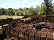 Asisbiz Facing SW Pre Rup Temple middle courtyard East Baray 01
