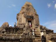 Asisbiz Facing West Pre Rup Temple central tower East Baray Jan 2010 03