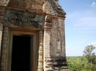 Asisbiz Facing West Pre Rup Temple central tower bas reliefs East Baray 01