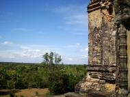 Asisbiz Facing West Pre Rup Temple central tower bas reliefs East Baray 02