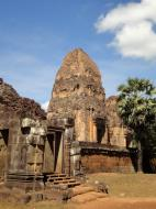 Asisbiz Facing West Pre Rup Temple outer towers East Baray 02