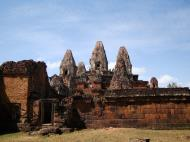 Asisbiz Facing West Pre Rup Temple outer towers East Baray 04