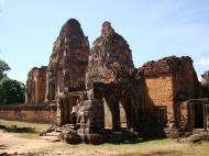 Asisbiz Facing West Pre Rup Temple outer towers East Baray 05