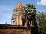 Asisbiz Facing West Pre Rup Temple outer towers East Baray 06