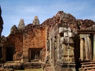 Asisbiz Facing West Pre Rup Temple outer towers East Baray 11