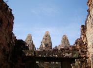 Asisbiz Pre Rup Temple middle courtyard view East Baray Jan 2010 01