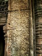 Asisbiz Preah Khan Temple Bas relief column designs Preah Vihear province 02