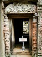 Asisbiz Preah Khan Temple Bas relief column designs Preah Vihear province 05
