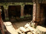 Asisbiz Preah Khan Temple Bas relief column designs Preah Vihear province 06