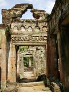 Asisbiz Preah Khan Temple Bas relief dancing Apsaras hall of dancers 02