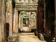 Asisbiz Preah Khan Temple Bas relief dancing Apsaras hall of dancers 03