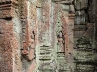 Asisbiz Preah Khan Temple Bas relief devatas main enclosure 01