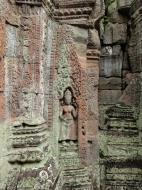 Asisbiz Preah Khan Temple Bas relief devatas main enclosure 02
