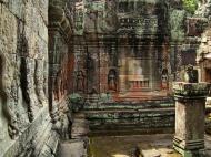Asisbiz Preah Khan Temple Bas relief false door for the spirits Cambodia 04