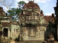 Asisbiz Preah Khan Temple Bas relief false door for the spirits Cambodia 06
