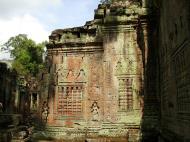 Asisbiz Preah Khan Temple Bas relief false door for the spirits Cambodia 07
