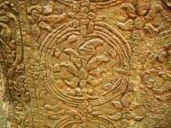 Asisbiz Preah Khan Temple Bas relief inner designs Preah Vihear province 03