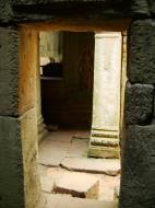 Asisbiz Preah Khan Temple Bas relief male and female divinty main enclosure 08