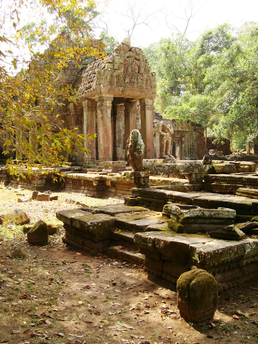 Preah Khan 12th century Khmer Style Northern Gopura Angkor Thom 07