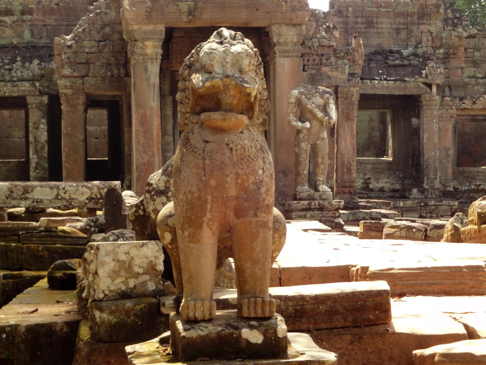 Preah Khan 12th century Khmer Style Northern Gopura Angkor Thom 09