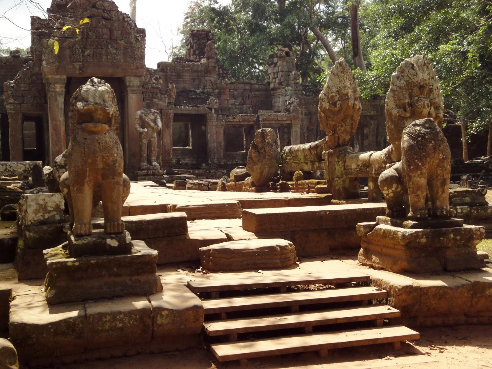Preah Khan 12th century Khmer Style Northern Gopura Angkor Thom 10