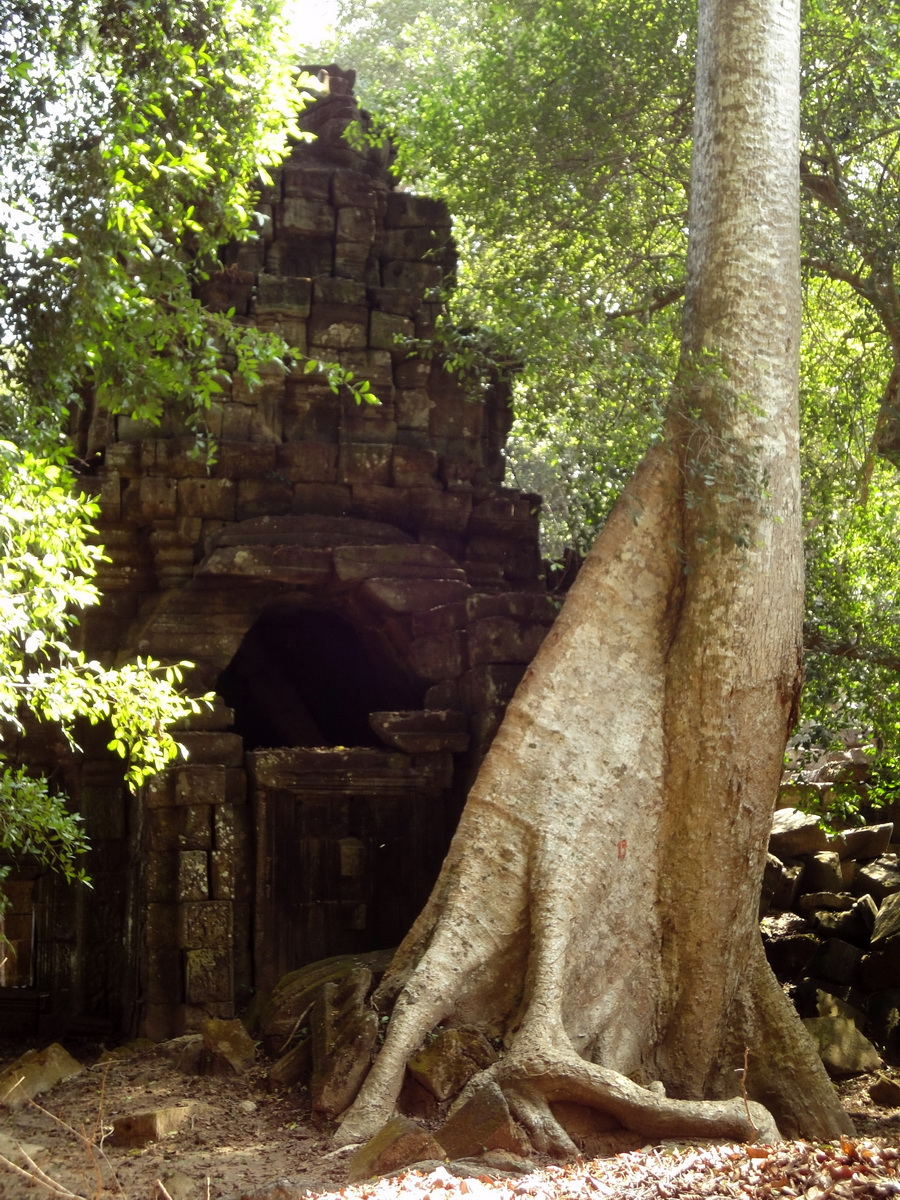 Preah Khan 12th century Khmer Style Southern Gopura Angkor Thom 02