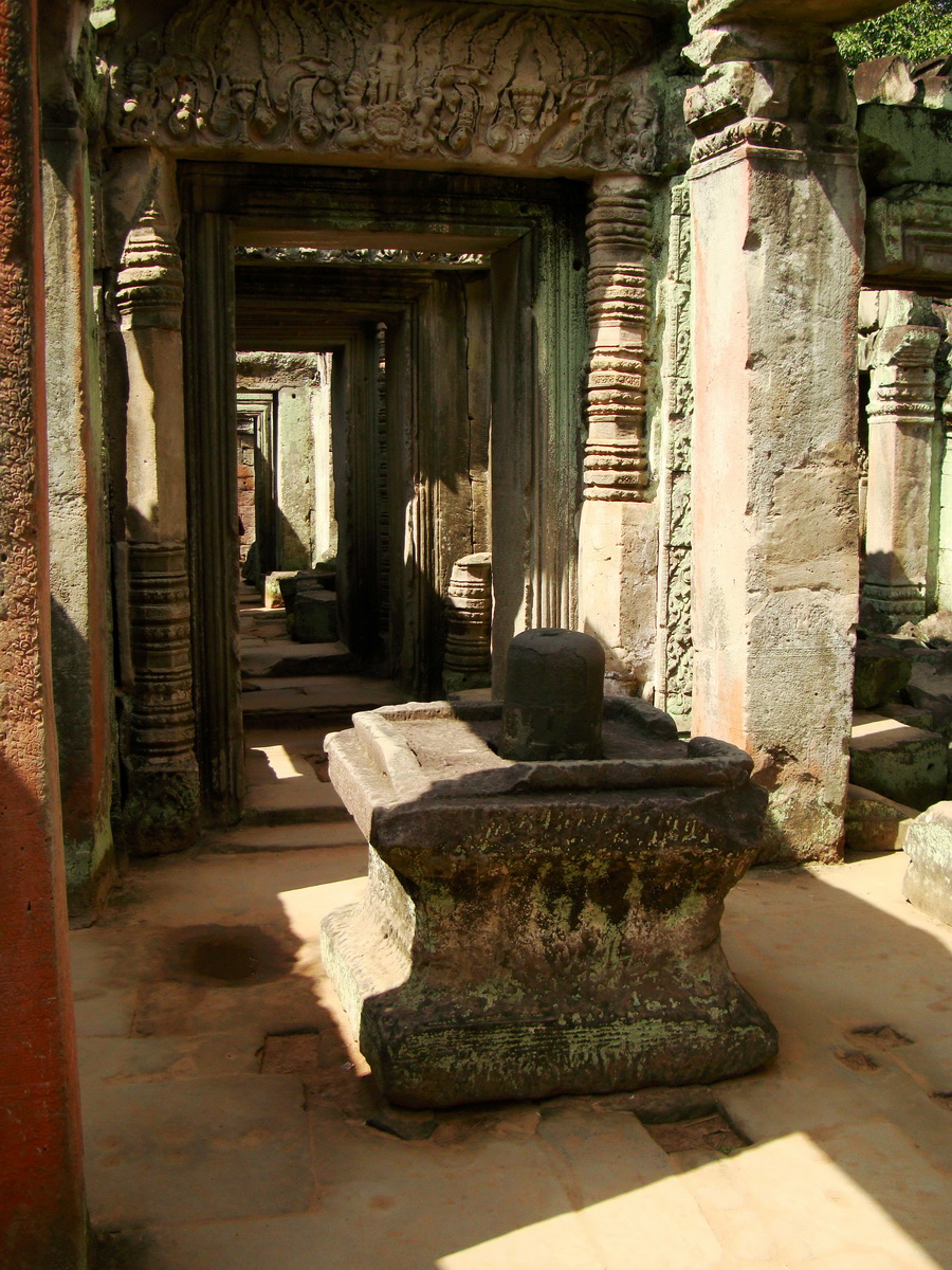 Preah Khan North Temple dedicated to Hindu God Shiva 02