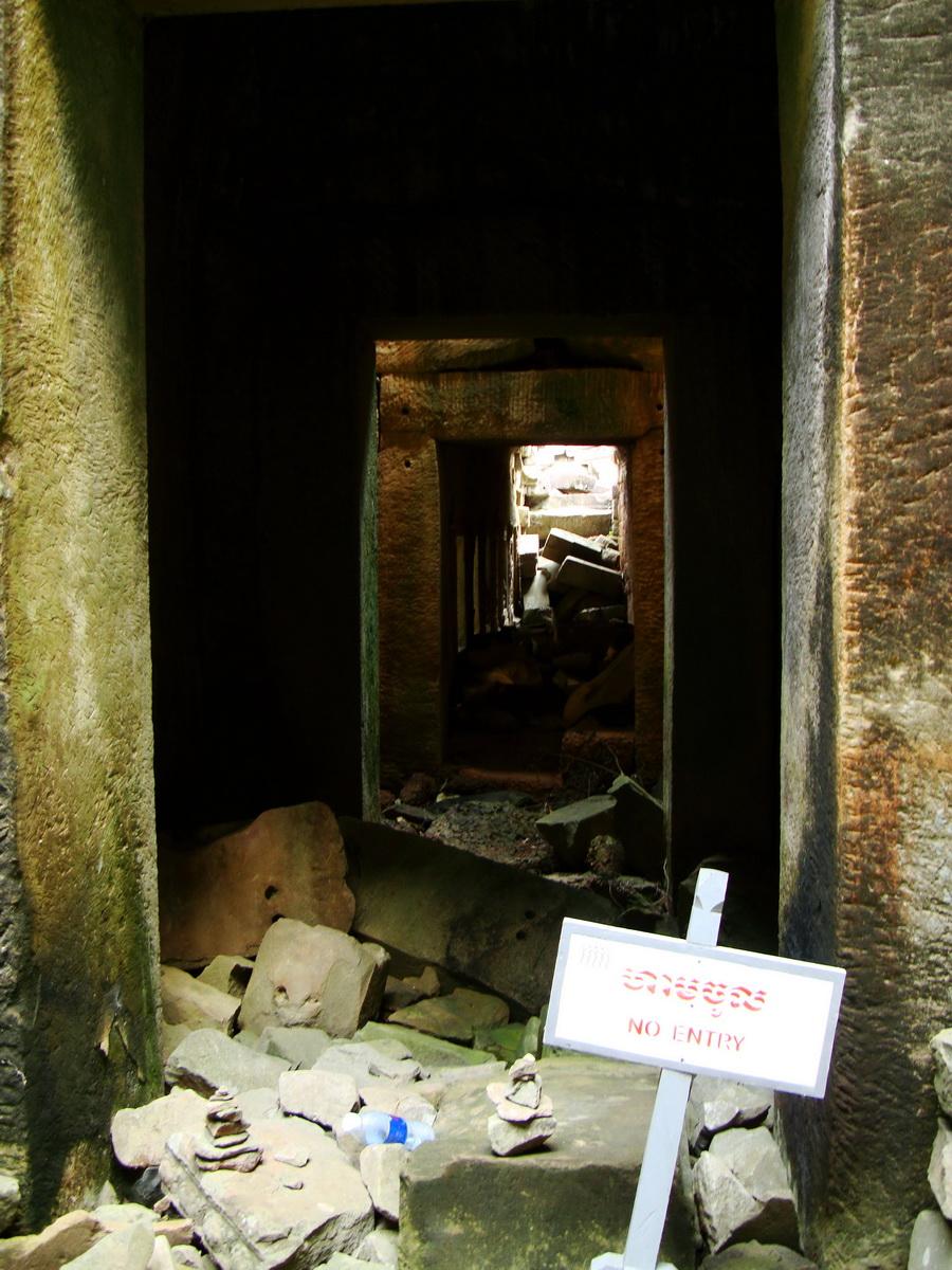 Preah Khan Temple 12th century Khmer Style passageways 11