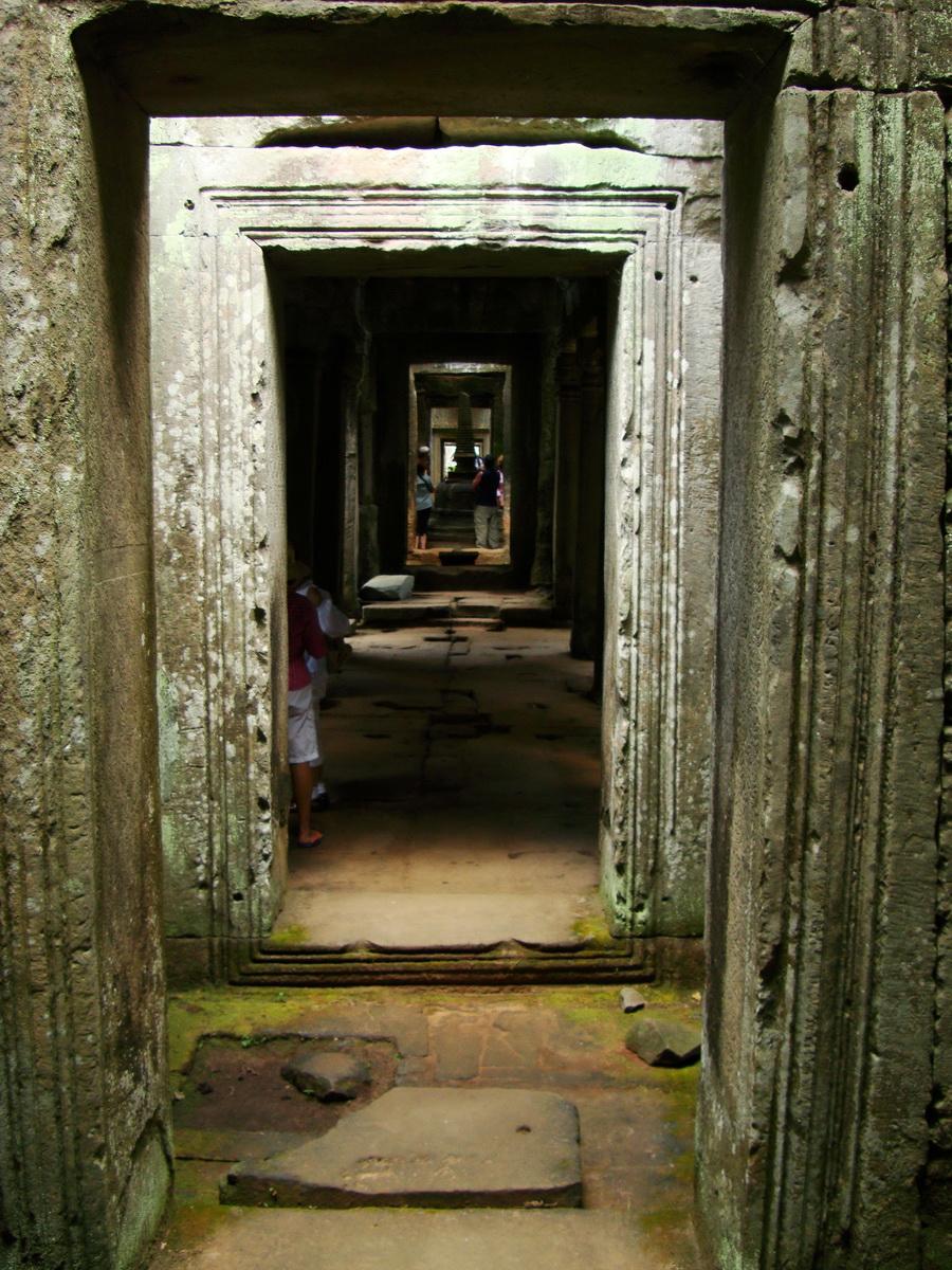 Preah Khan Temple 12th century Khmer Style passageways 13