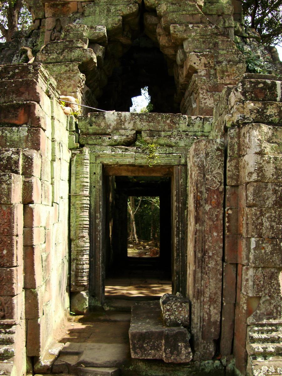 Preah Khan Temple 12th century Khmer Style passageways 23
