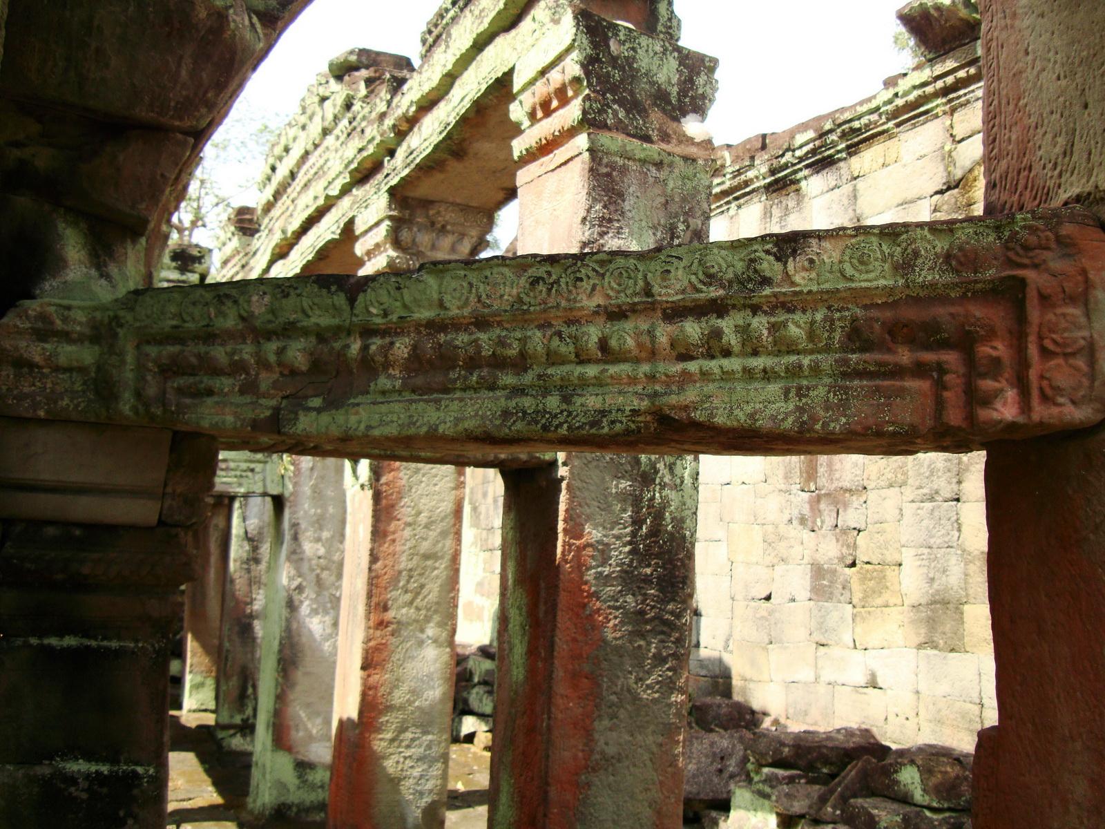 Preah Khan Temple 12th century Khmer Style passageways 26