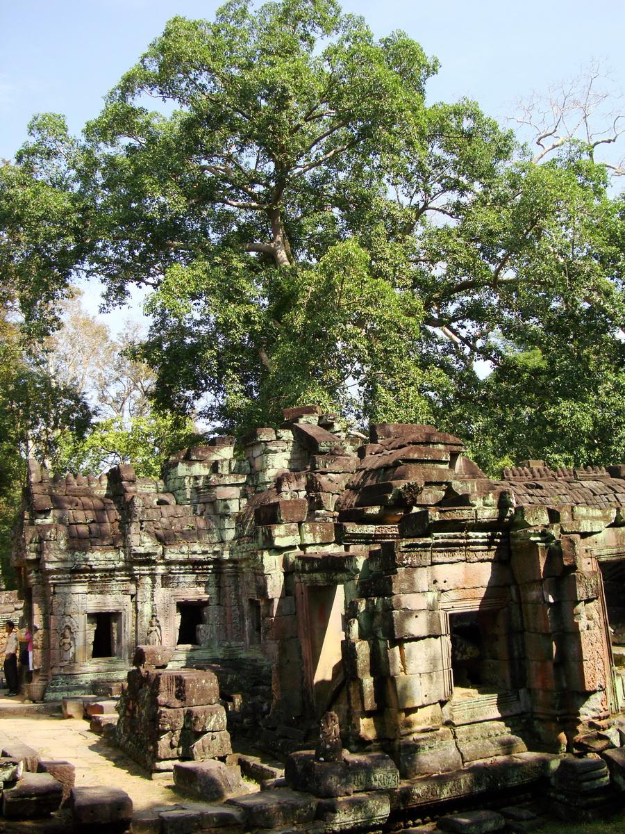 Preah Khan West Vishnu temple Angkor Thom Preah Vihear province 01
