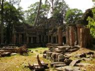 Asisbiz Preah Khan 12th century Khmer Style Eastern Gopura Angkor Thom 04